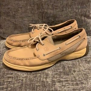 Sperrys topsider slip on loafers boat shoes